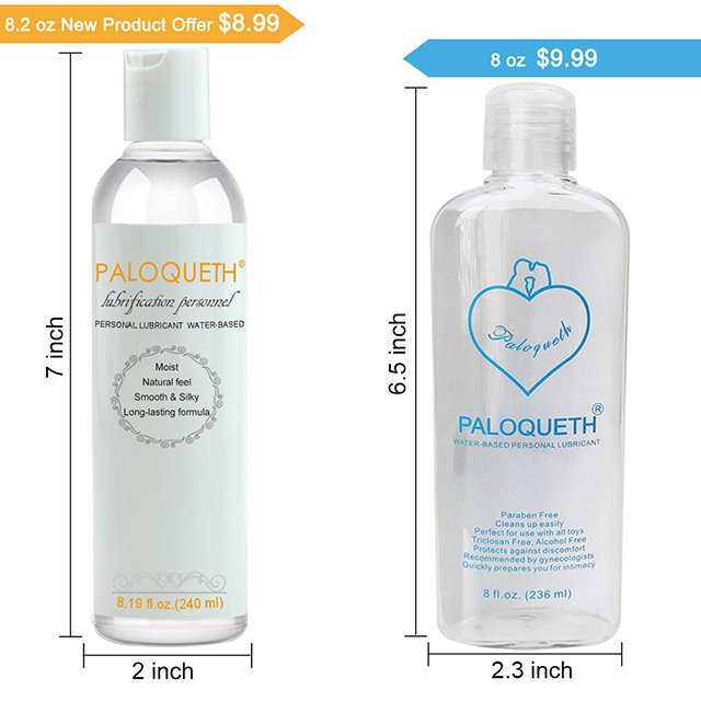 Paloqueth Water Based Lubricant (240ml)